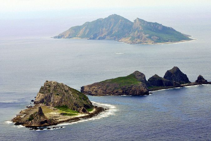 File photo shows part of the disputed islands in the East China Sea, known as the Senkaku isles in Japan, Diaoyu in China, is seen in the East China Sea