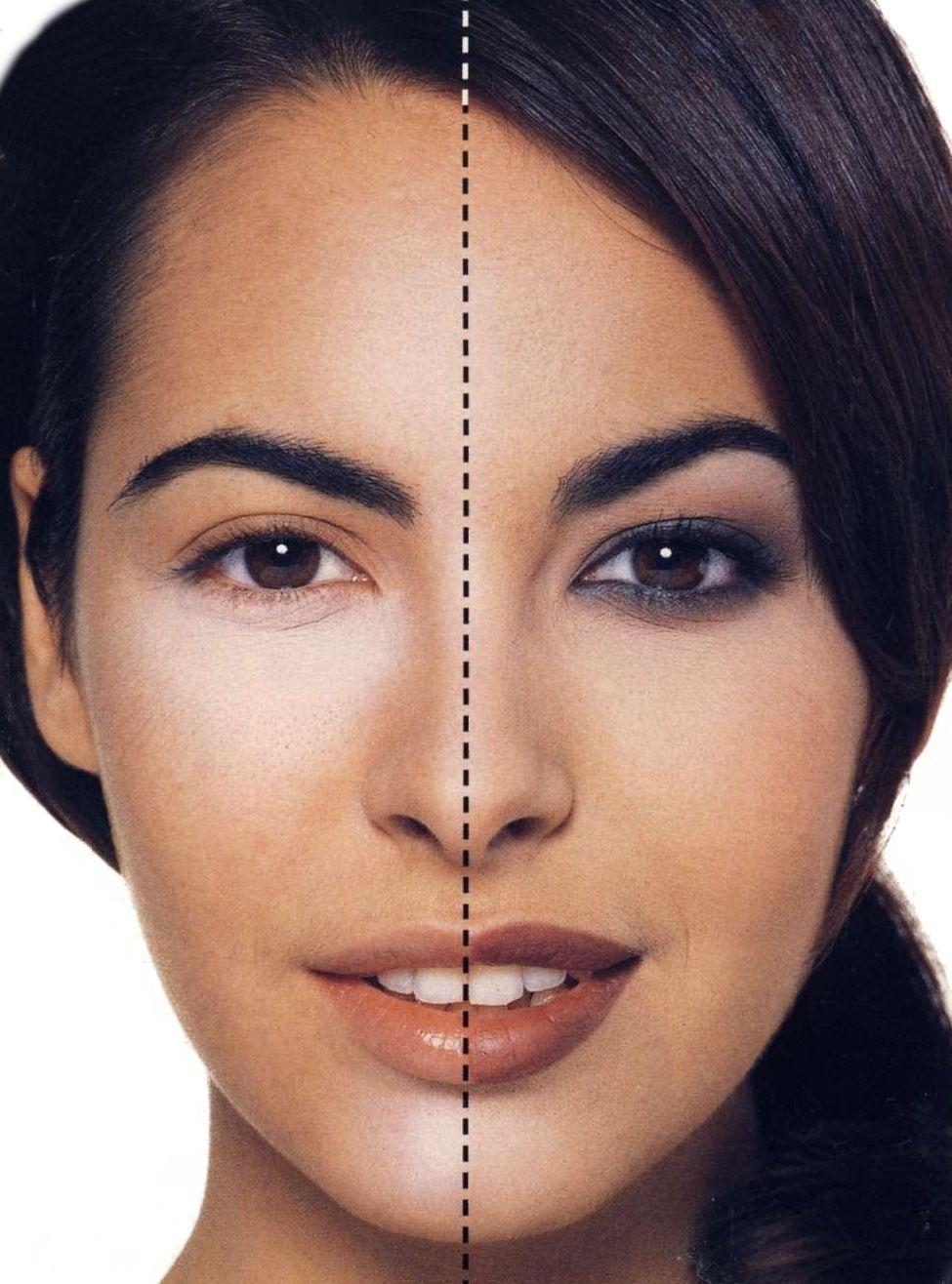 макияж для карих глаз