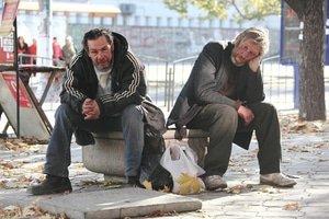 бомжи в украине