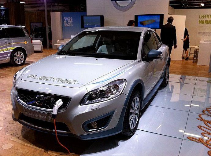 Volvo электрокар