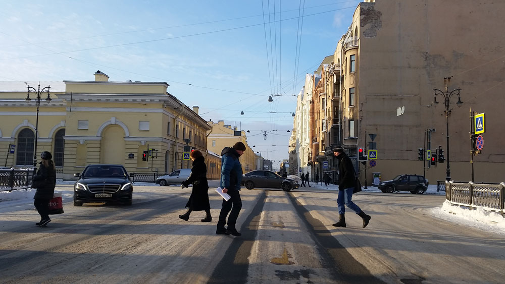 Санкт-Петербург и реагенты