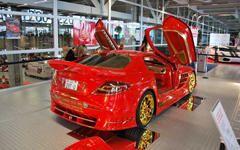 Автомобили из золота