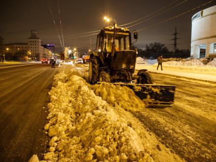 Уборка дорог в Казани