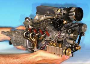 Наиболее миниатюрный двигатель на планете