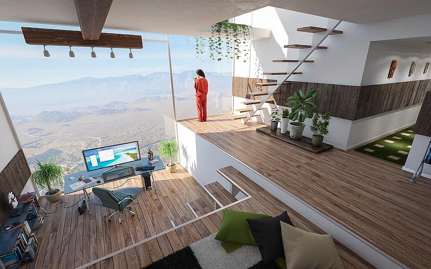 Современная мебель для офисов и домов